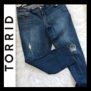 TORRID Ex-Boyfriend Distressed Jean